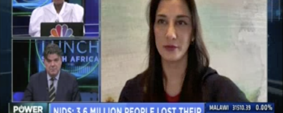 WATCH: CNBC Africa on SA's job losses & the threat posed on women